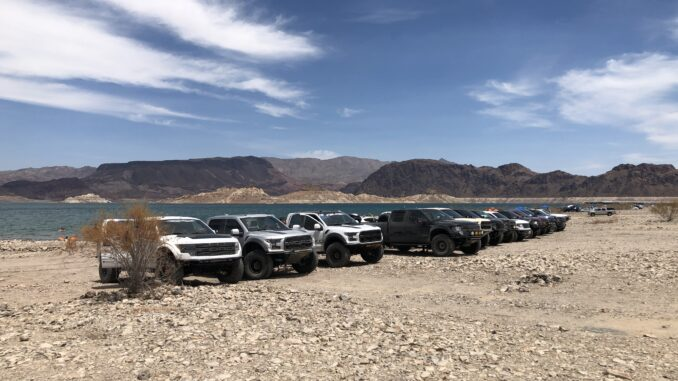 Raw horsepower lake mead