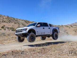 Mojave desert jump